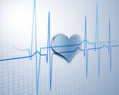 Image of hearbeat — Stock Photo