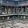 Angkor Wat.  Ancient pool - Photo
