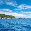 Similan Islands in the Andaman Sea.  Thailand. — Stock Photo