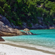 Similan Islands in the Andaman Sea.  Thailand. - Stock Photo