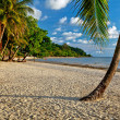 Evening on the beach of the island of Koh Chang in Thailand - Stock Photo