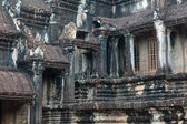 The architecture of Angkor Wat temple in Cambodia — Stock Photo