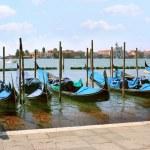 Gondolas in Venice — Stock Photo #11524364