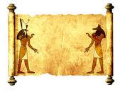 Anubis und horus — Stockfoto