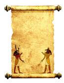 Anubis and Horus — Stock Photo