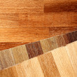 Oak parquet — Stock Photo