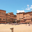 Piazza del Campo, Siena, Italy - Stock Photo