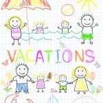 Family vacations — Stock Vector #11918320