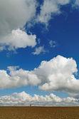 Entre nubes y tierra. — Foto de Stock