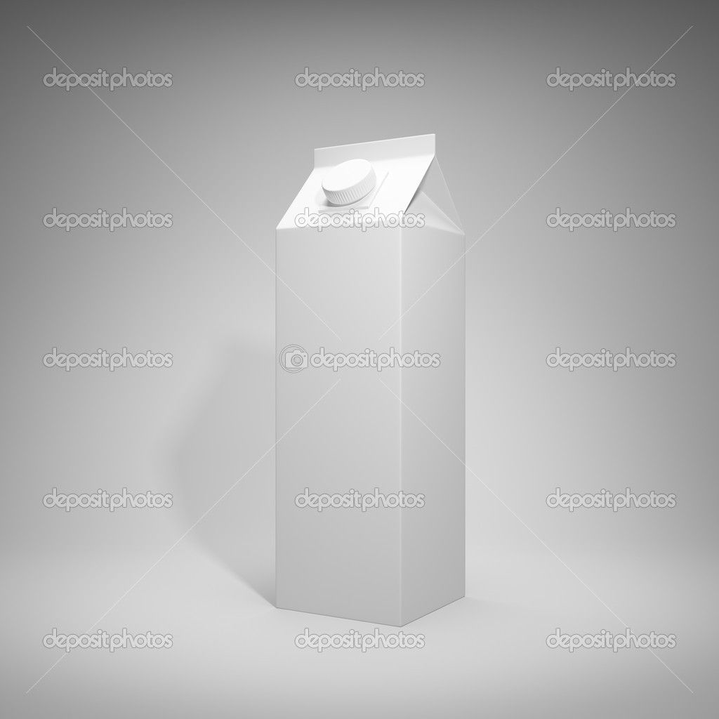 Blank milk package — Stock Photo #11169867