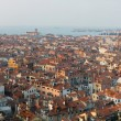 Panorama of Venice,Italy, view from the bell tower — Stock Photo