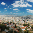 Panoramof Athens megalopolis from Acropolis hill,Greece — Stock Photo #11771345