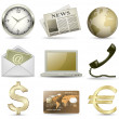 Royalty-Free Stock Imagen vectorial: Business icons