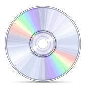 ブルーレイ、dvd または cd ディスク — ストックベクタ