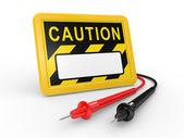 Multimetr kabel — Zdjęcie stockowe