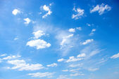 Blue sky background — 图库照片