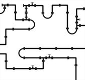 Tubing — Stock Vector