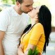 Young couple in love - Outdoors — Stock Photo #12172283