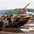 Russian main battle tank — Stock Photo