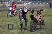 Sport bikes — Stock Photo