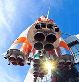 Foguete de transporte espacial russo — Foto Stock