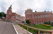 Iversky klooster in samara, rusland. — Stockfoto