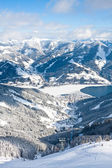 Ski resort Zell am See. Austria — Foto de Stock