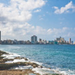 Waterfront Macelon. Havana, Cuba — Stock Photo #11396247