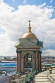 Detail of St. Isaac's Cathedral. View from the lookout. St. Pete — Stock Photo
