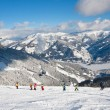 Ski resort Zell am See. Austria — Stock Photo #11680710