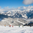Stock Photo: Ski resort Zell am See. Austria