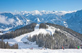 Ski resort Zell am See. Austria — Stockfoto