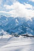 Ski resort Zell am See. Austria — Stock Photo