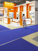 International exhibition NEFTEGAZ-2012 — Stock Photo