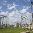 High-voltage substation — Stock Photo #10943146