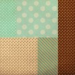 Vintage background from grunge paper - Stock Photo