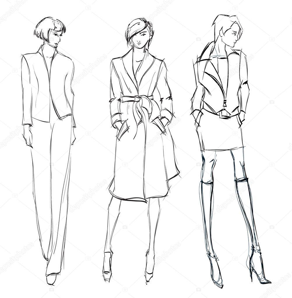 Sketching fashion designs beginners 56