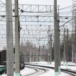 Railway. Rails. — Stock Photo #11942577