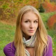 Autumn girl portrait — Stock Photo #10817482