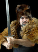 Cimmerian.barbarian Warrior — Stock Photo