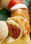 Japanese sushi traditional japanese food — Stock Photo