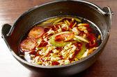 中国の肉と野菜スープ — ストック写真