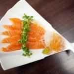Salmon seshimi — Stock Photo #11565111