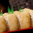 Japanese sushi traditional japanese food. — Stock Photo #12035592