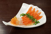 Salmon seshimi — Stock Photo