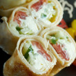 Chinese or Thai-style  spring rolls — Stock Photo