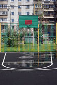 Basketball court — 图库照片