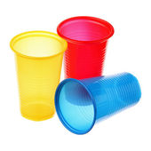 Plastic cups — Stock Photo