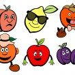 Fruits icons set — Stock Vector #11573482