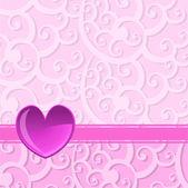 Heart background — Cтоковый вектор